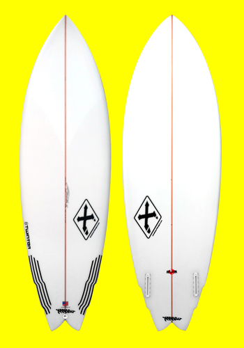 xanadu twinter surfboard model
