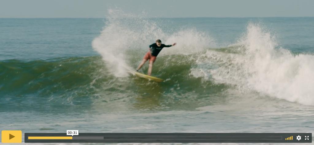 tyler warren rides a wing twin model on surfline